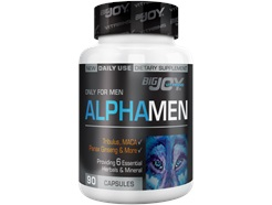 Big Joy Vitamins Alphamen 90 Kapsül