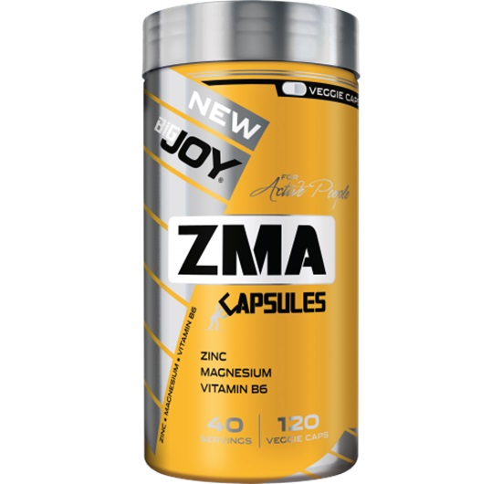 Big Joy Sports ZMA 120 Veggie Kapsül
