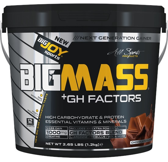 Big Joy Big Mass GH Factors 1,2 Kg Çikolata