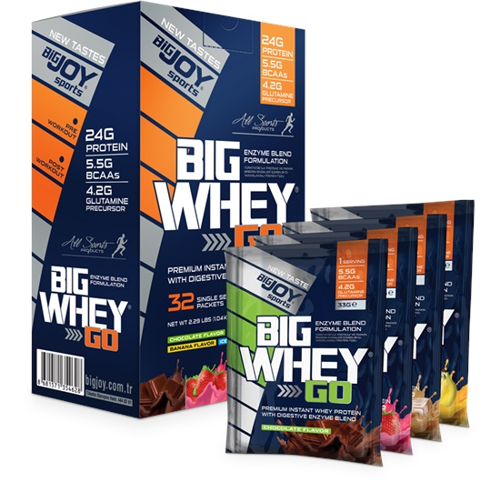Big Joy Sports Big Whey Go MIX 32 Saşe 1040 Gr