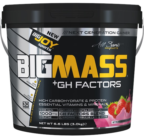 Big Joy Big Mass GH Factors 3 Kg Çilek